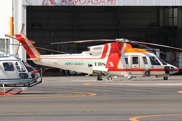 JA6693  -  Sikorsky S-76C  -  Aero Asahi  -  RJTI 9/10/19