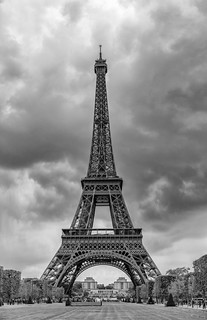 Paris in black & white
