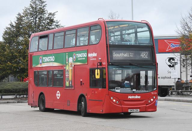 Metroline Alexander Dennis Enviro 400 TE1723