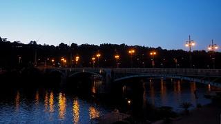 Abendstimmung in Prag an der Moldau
