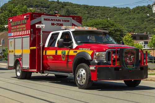 smack53 fordtruck portjervis newyork summer summertime firetrucks fireapparatus nikon d3100 nikond3100 firedepartment parade
