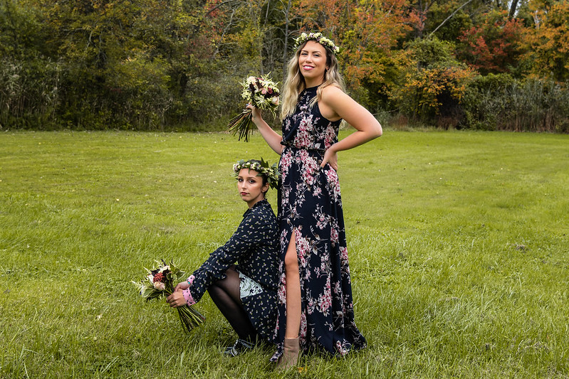 Petal It Forward Day | Boho Floral Photoshoot | Flower Bouquets Country Field | Bohemian Flower Crowns