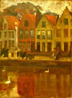 Bruges/Belgium (c.1909) - Adriano de Sousa Lopes (1879-1944)