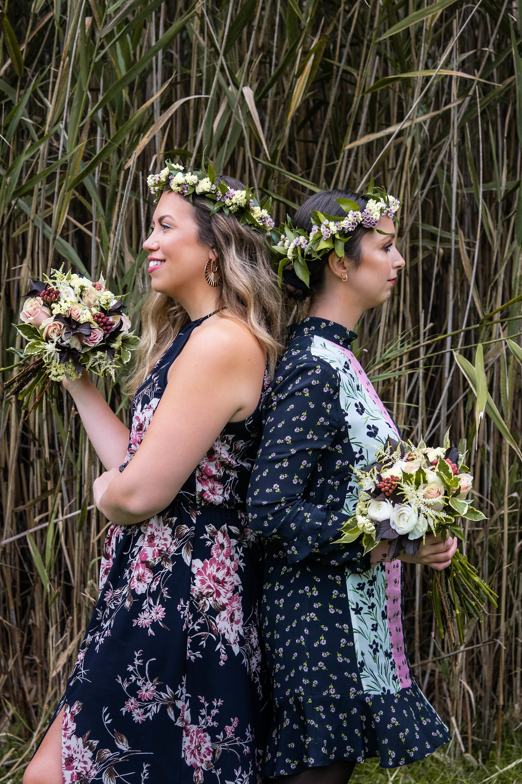 Fall Flower Photoshoot Inspiration | Bohemian Brides | Flower Shop Photos