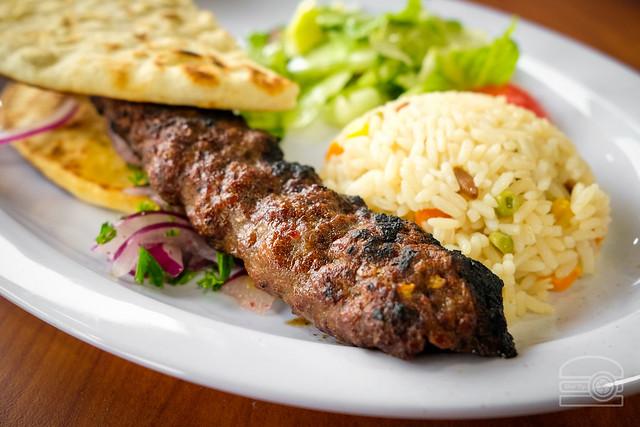 Spicy Lamb Shish - Istanbul Restaurant