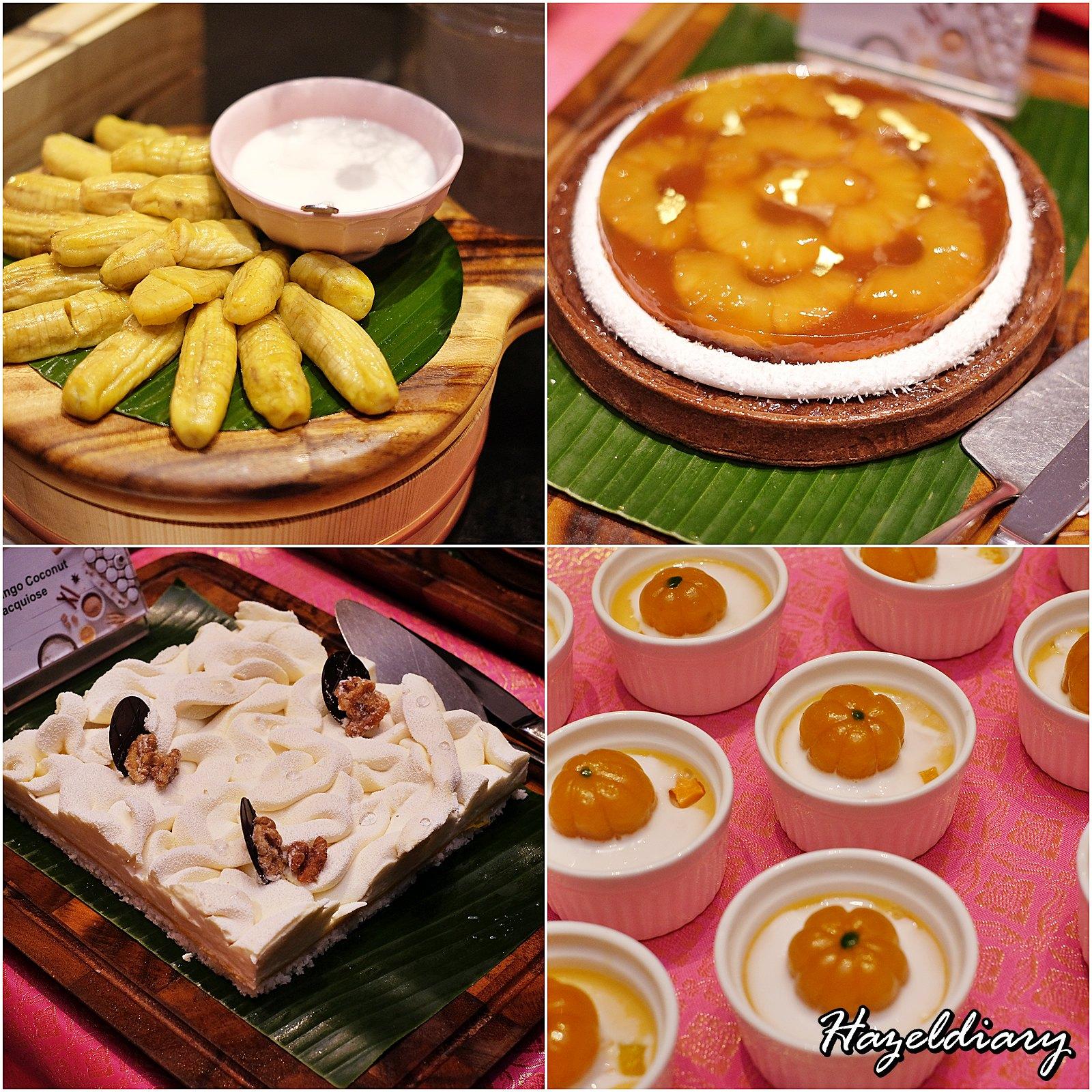 EnThaising Siam-The Dining Room Sheraton Towers Singapore-Dessert