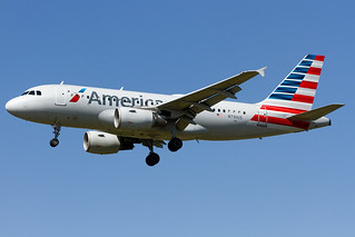 N730US American Airlines Airbus A319-112