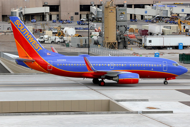 N499WN | Boeing 737-7H4/W | Southwest Airlines