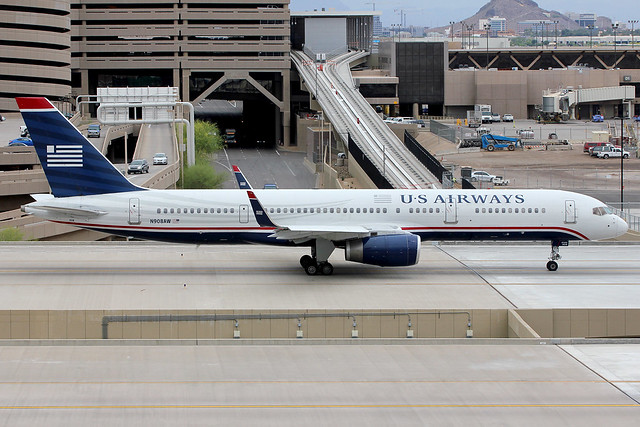 N908AW | Boeing 757-2G7/W | US Airways