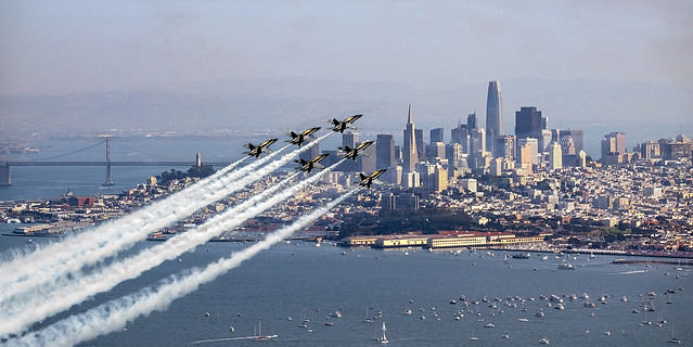 Airshow in San Francisco