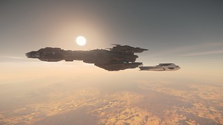"Star Citizen  "" together on the run ""    4K"
