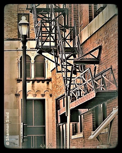 Houston TX Downtown Fire Escape