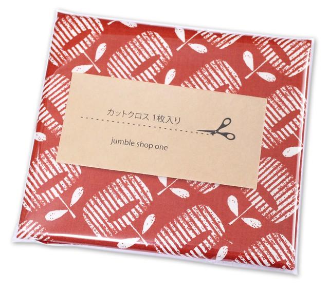 カットクロス Cloud9 Fabrics Around The Block 157606 Flower Bed Red