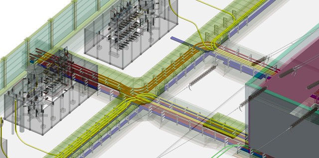 859_L'adoption du contexte numérique et des jumeaux numériques pour les postes électriques permet aux grandes organisations d'améliorer la précision de la conception