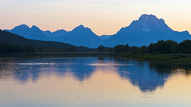 Sunset at Grand Teton