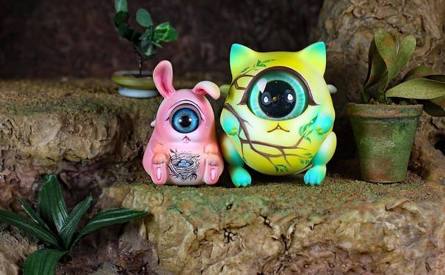 Bunny-maru and Bebe-maru