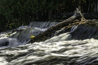 Ontonagon River above Bond Falls - Michigan
