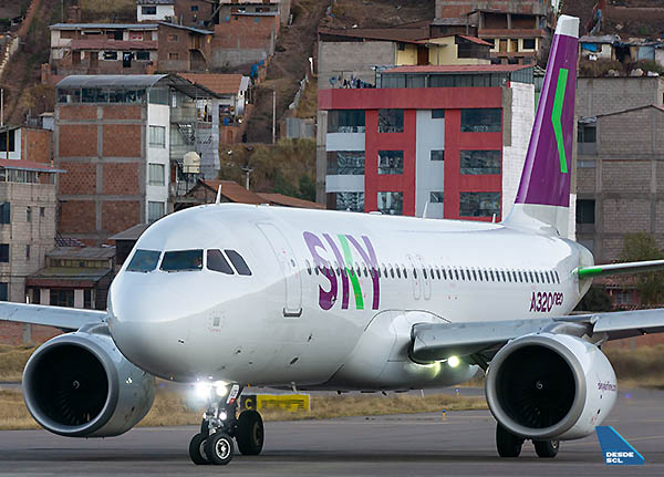 SKY A320neo CUZ (Diego Jara)