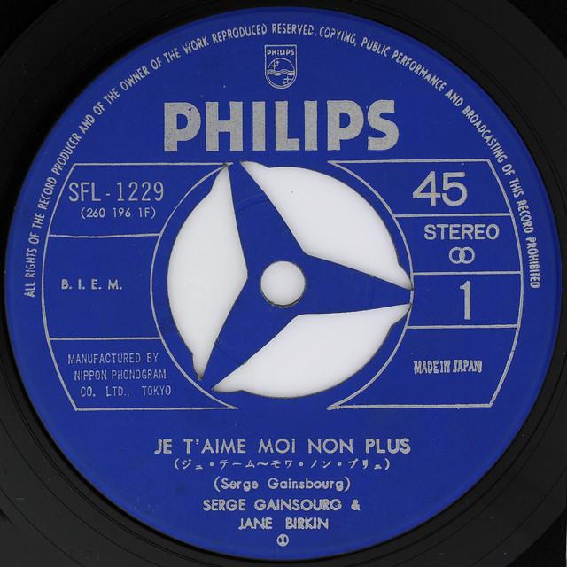 Serge Gainsbourg & Jane Birkin - Je T'aime Moi Non Plus [Japan Philips]