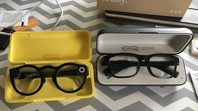 Snap Spectacles and Vue glasses