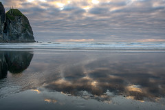 Reflections at Ruby Beach