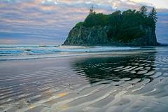 Ruby Beach at Sundown