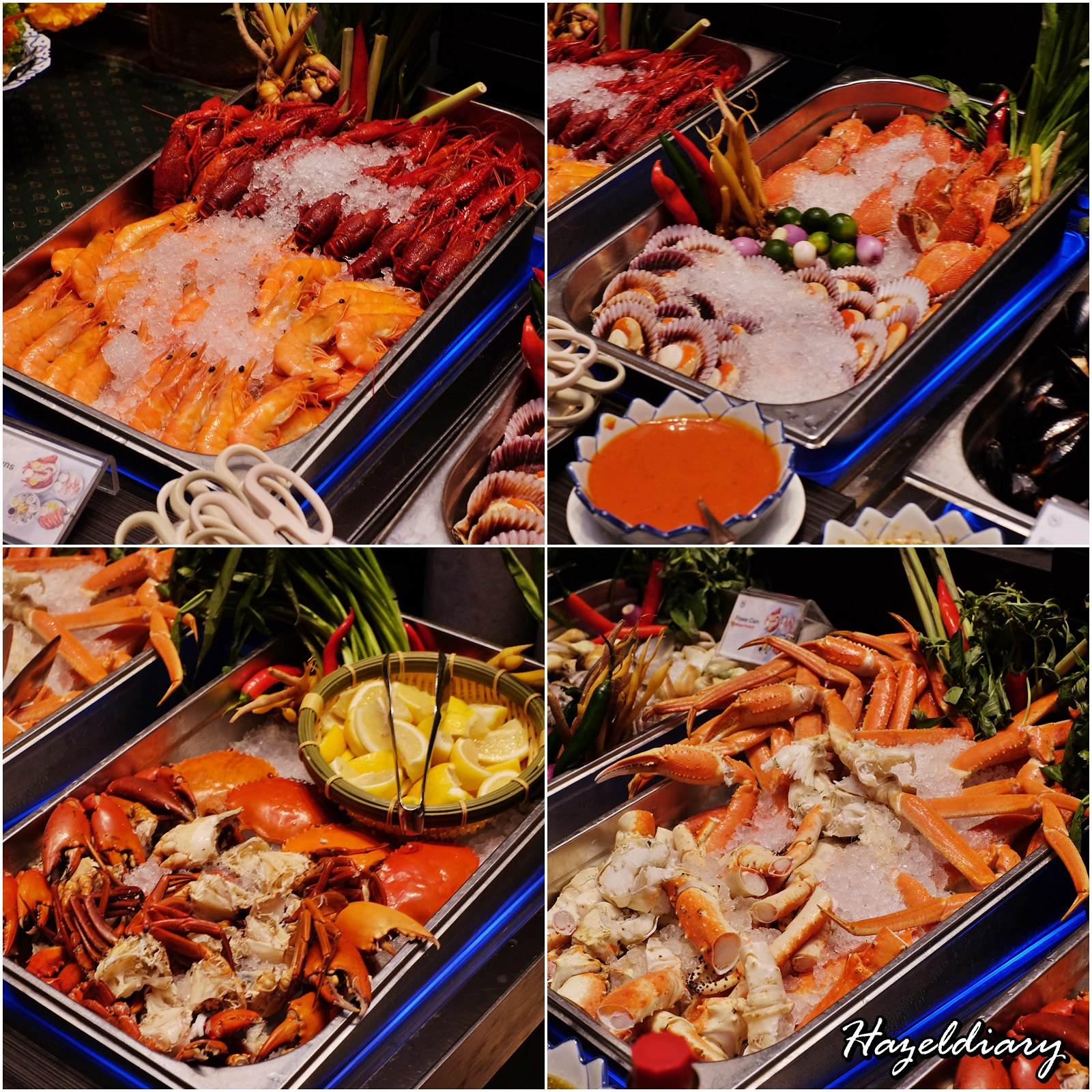 EnThaising Siam-The Dining Room Sheraton Towers Singapore-Fresh Seafood