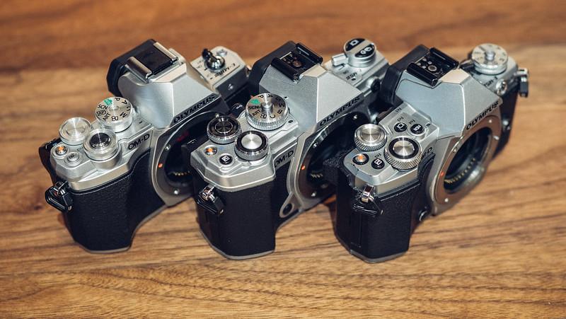 E-M5 Mk3 VS E-M5 Mk2 VS E-M10 Mk3|OLYMPUS