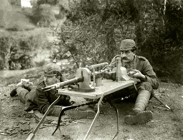 """""""Sturm = Abwehr = Gewehr"""" / Königlich Bayerisches Brigade-Ersatz-Bataillon Nr. 9"""