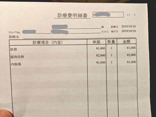 コザクラインコの診察の費用