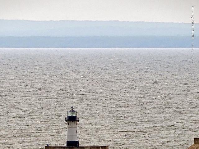 Lake Superior & Lighthouse, 17 July 2019