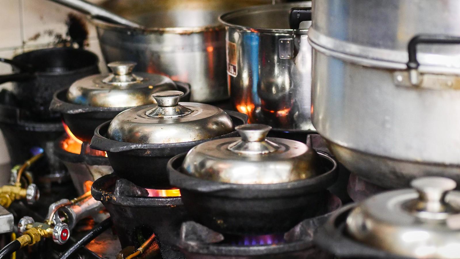 claypot cooking