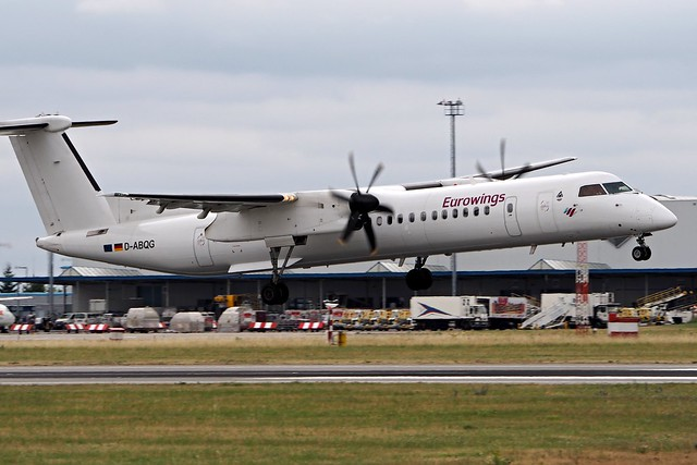 Bombardier DHC-8-Q-402  D-ABQG — Eurowings Airlines