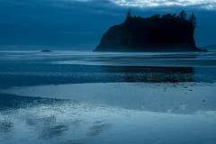 Blue Hour at Ruby Beach