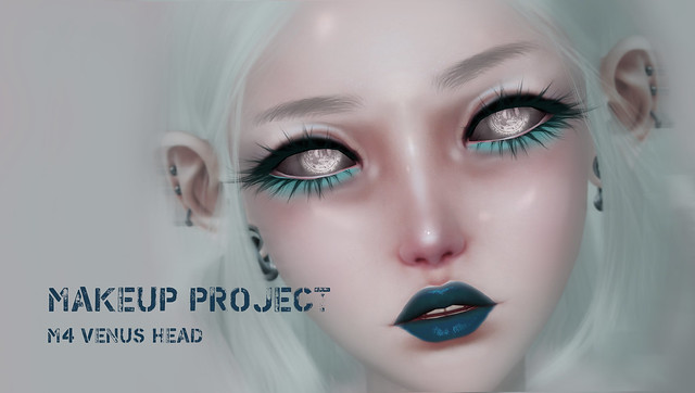 Makeup Project for M4 Venus Head