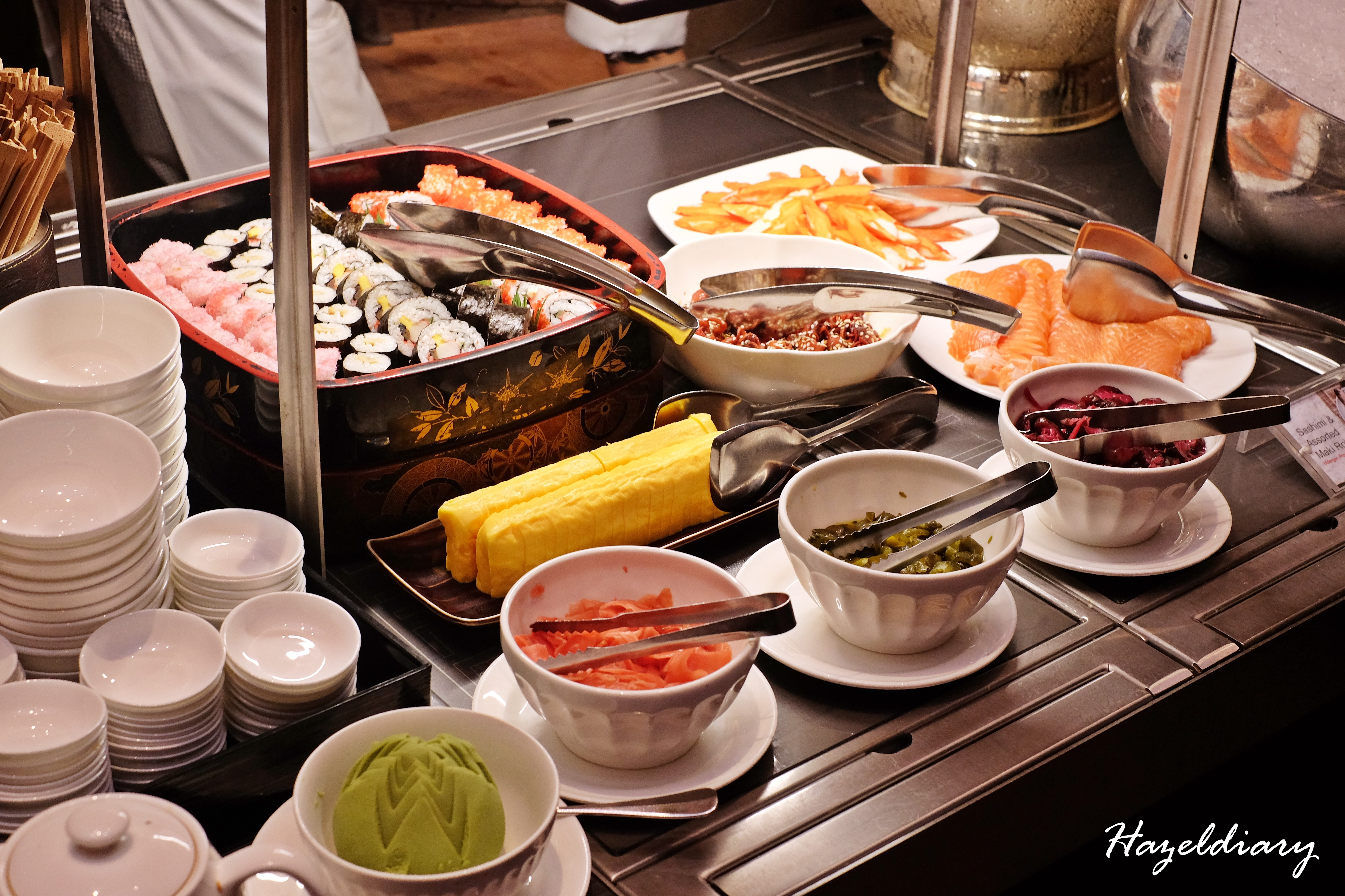 EnThaising Siam-The Dining Room Sheraton Towers Singapore-Japanese Counter