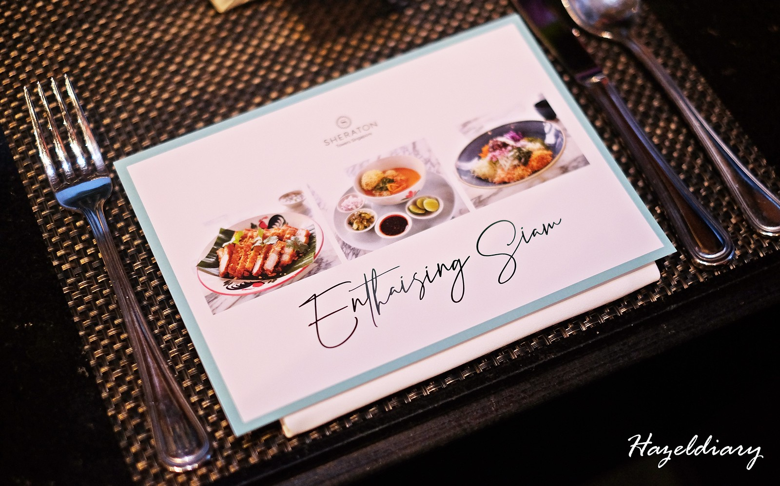 EnThaising Siam-The Dining Room Sheraton Towers Singapore
