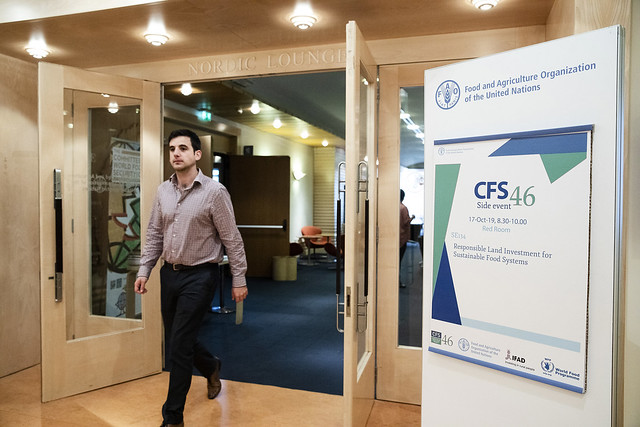 CFS 46 Side Event: SE134 Responsible Land Investment for Sustainable Food Systems