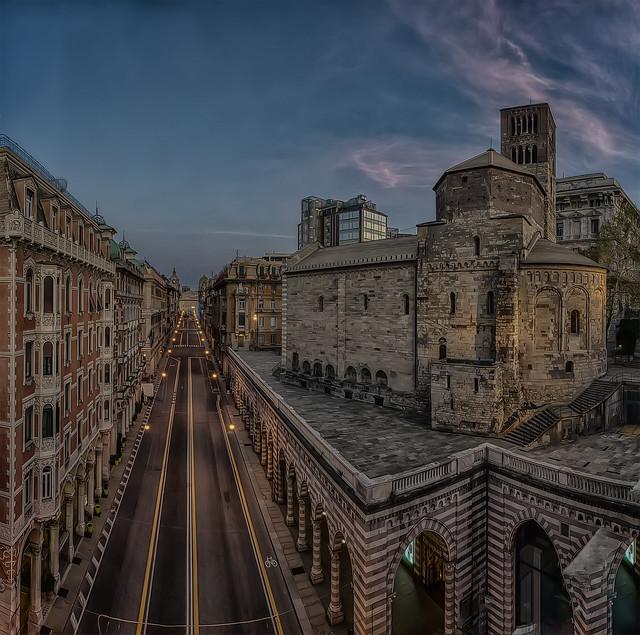 Via XX Settembre ( Genova )