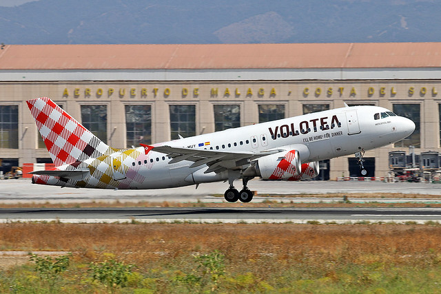 EC-MUY Airbus A.319-111 Volotea Airlines AGP 31-08-19