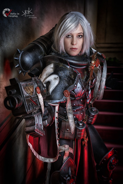 Piece of Cake Cosplay as Sister of Battle from Warhammer 40K, by SpirosK photography (ch.2: fighting and preaching)