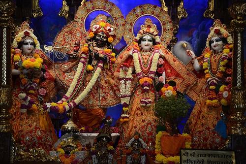 ISKCON Ujjain Deity Darshan 17 Oct 2019