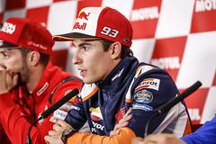 Marc Márquez. GP de Japón 2019. Media Day
