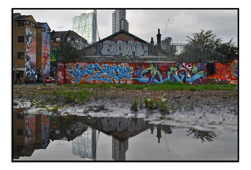 STREET ART by JIM VISION & MONK.E.