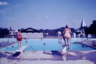 Found Photo - Kids at Pool