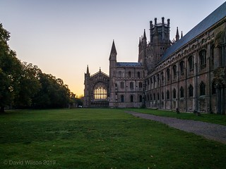 Ely Cathedral, Lady Chapel At Sunrise