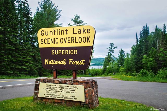 Gunflint Lake Overlook
