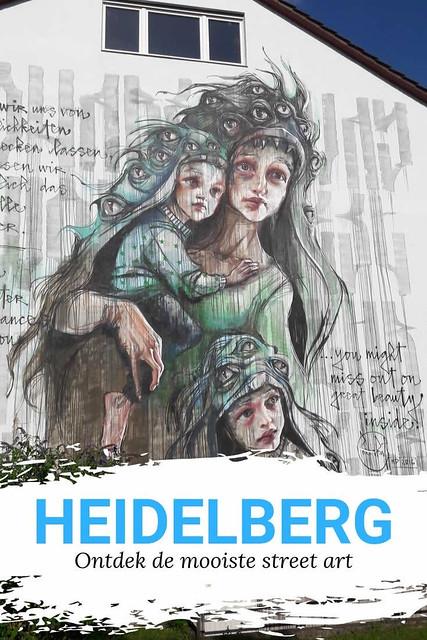 Street art in Heidelberg: festival Metropolink | Mooistestedentrips.nl