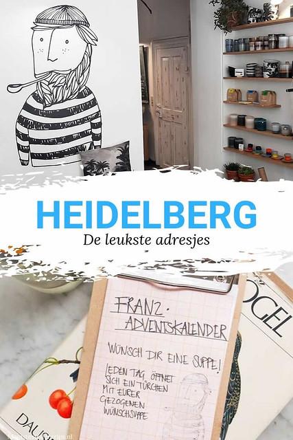 De leukste adresjes in Heidelberg, Duitsland | Mooistestedentrips.nl