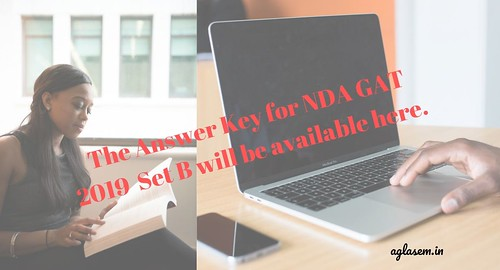 The Answer Key for NDA GAT 2019 Set B will be available here.-min